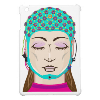 EEG device Mind reading scanning Brain signals iPad Mini Covers