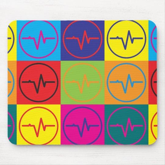 EEG Pop Art Mouse Mat