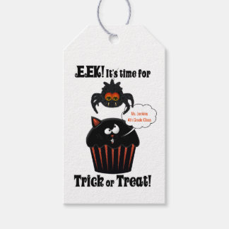 Eek a Spider and Black Cat Cupcake Custom