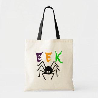 EEK halloween spider bag