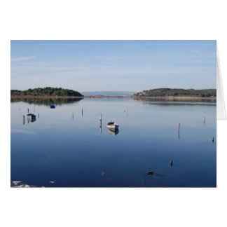 Eel Lake, Gruissan Note Card