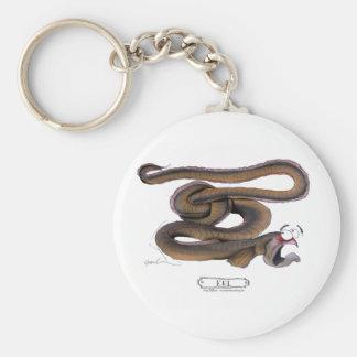 Eel, tony fernandes keychain