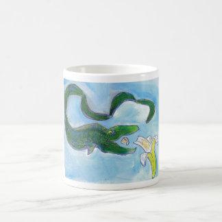 Eels eat bananas mug