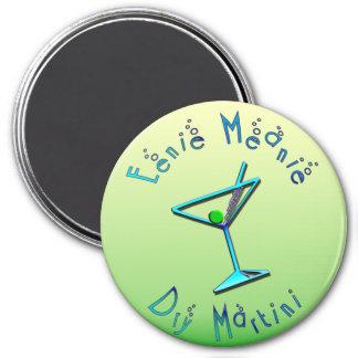 Eenie Meanie Dry Martini 7.5 Cm Round Magnet