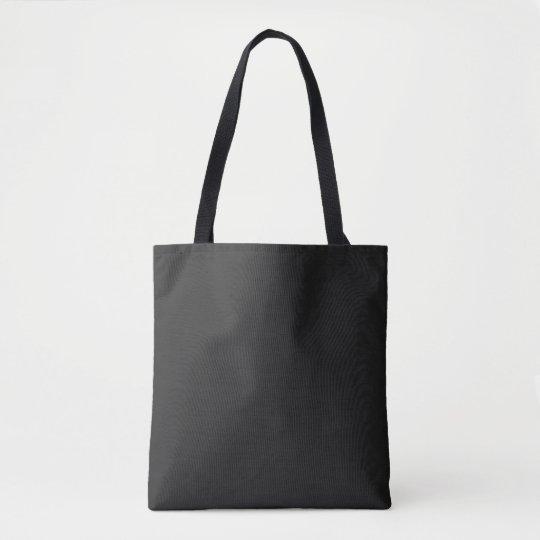 Eerie Black Tote Bag