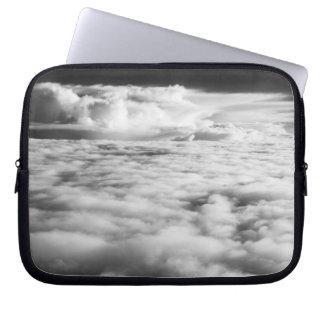 Eerie cloudscape at sunrise. 2 laptop sleeve
