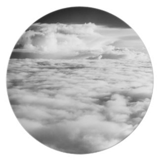 Eerie cloudscape at sunrise. 2 plate
