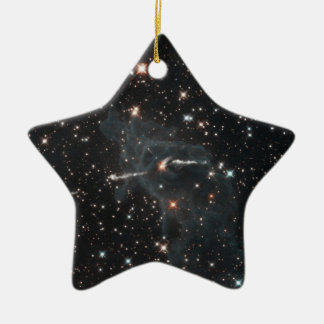 Eerie ghost in Carina Nebula Christmas Ornament