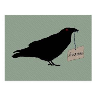 Eerie Raven Postcard