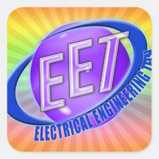 EET ORB SWOOSH LOGO ELECTRICAL ENGINEERING TECH STICKERS