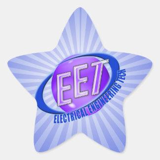 EET ORB SWOOSH LOGO ELECTRICAL ENGINEERING TECH STICKER