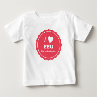 EEU infant short sleeved t-shirt