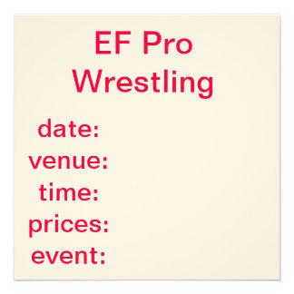ef wrestling spare invites
