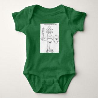 Efésios 6 baby bodysuit