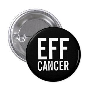 EFF CANCER 3 CM ROUND BADGE