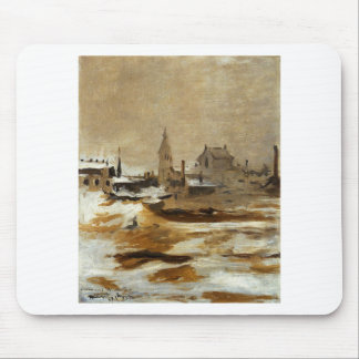Effect of Snow at Petit-Montrouge by Edouard Manet Mouse Pad