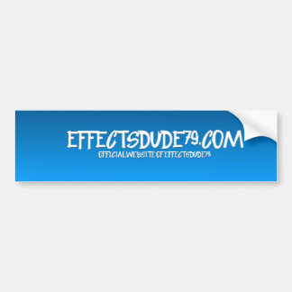 effectsdude79.com cool design bumper sticker
