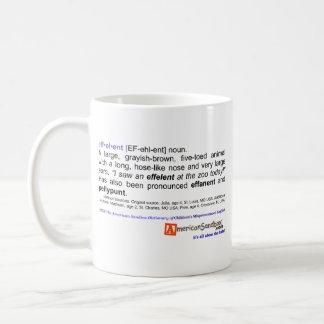 """Effelent"" Coffee Mugs"