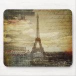effiel tower vintage paris wedding customisable mousepad