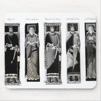 Effigies of Henry II  Eleanor of Aquitaine Mouse Pad
