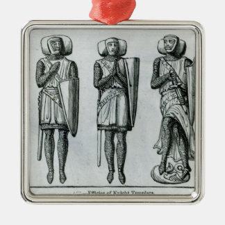 Effigies of Knight Templars Christmas Ornament