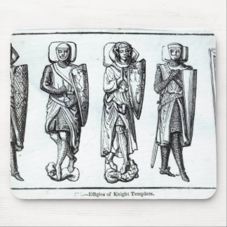 Effigies of Knights Templars Mouse Mat