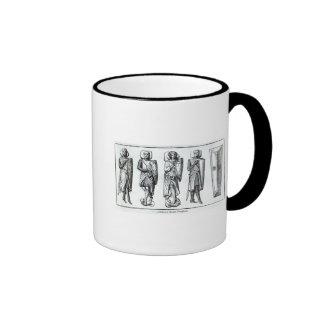 Effigies of Knights Templars Mugs