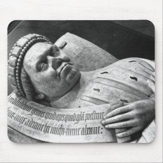 Effigy of Duc Jean de Berry  Count of Poitiers Mouse Mat