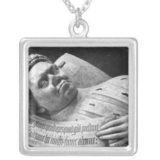 Effigy of Duc Jean de Berry  Count of Poitiers Silver Plated Necklace