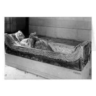 Effigy of Eleanor of Aquitaine Greeting Card
