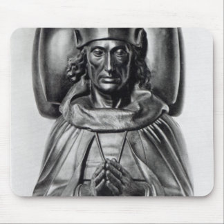 Effigy of Henry VII in Westminster Abbey Mouse Pad