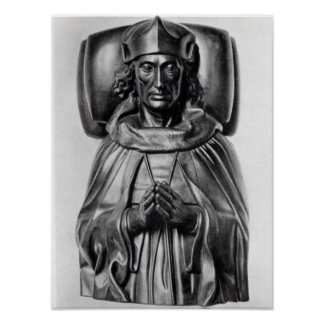 Effigy of Henry VII in Westminster Abbey Poster