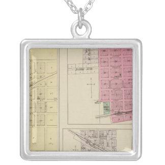 Effingham, Muscotah, Lancaster, Kansas Silver Plated Necklace