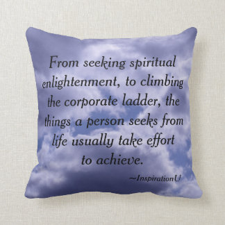 Effort to Achievement Cushions