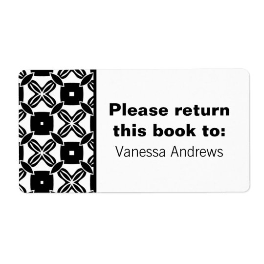 Effortless Beauty Bookplate Labels