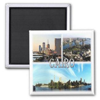 EG * Egypt - Cairo Square Magnet