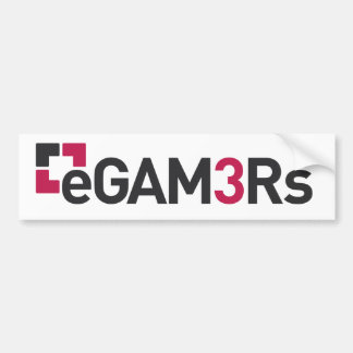 eGAM3Rs Bumper Sticker