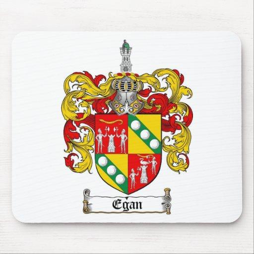 EGAN FAMILY CREST -  EGAN COAT OF ARMS MOUSE PAD