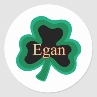 Egan Family Round Sticker