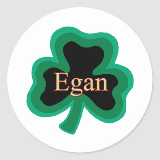 Egan Family Round Sticker