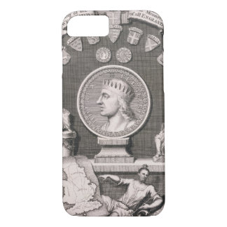 Egbert (d.839) King of the West Saxons, First Mona iPhone 8/7 Case