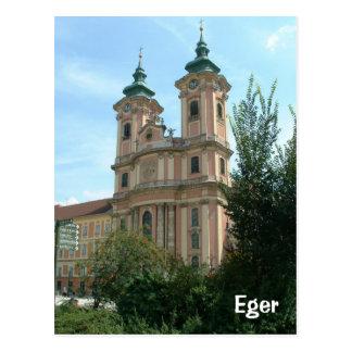Eger Postcard