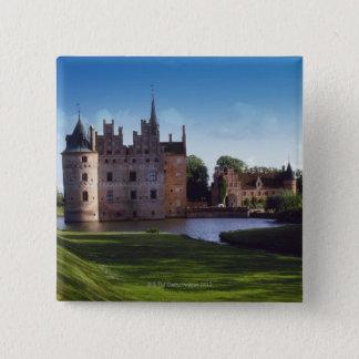 Egeskov Castle, Denmark 15 Cm Square Badge