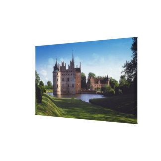 Egeskov Castle, Denmark Canvas Print