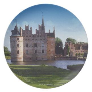 Egeskov Castle, Denmark Plate