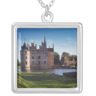 Egeskov Castle, Denmark Silver Plated Necklace