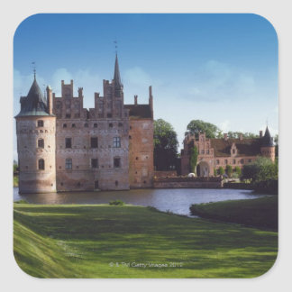 Egeskov Castle, Denmark Square Sticker
