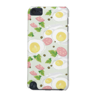 Egg and Sausage Pattern iPod Touch (5th Generation) Cover
