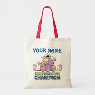 Egg Decorating Champion Canvas Bags