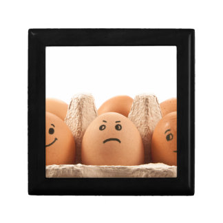 Egg emotions. small square gift box